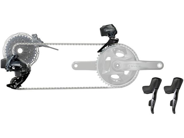 SRAM Force eTap AXS Road Groupe de transmission électronique 2 vitesses sans pédalier, black